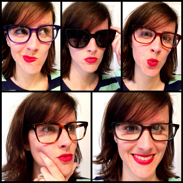 I love all of these frames I Warby Parker Seymour