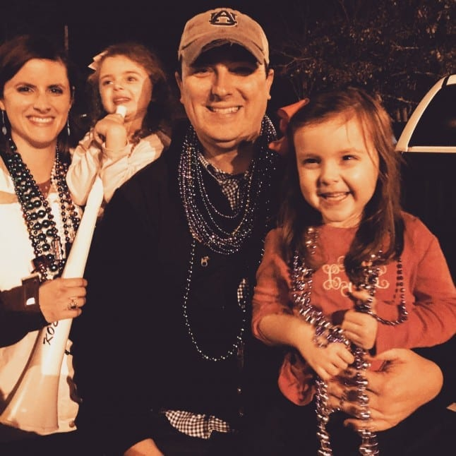 Mobile, Alabama is a great place to see a Mardi Gras parade with family.