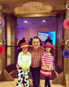 Daddy and his girls are having a ball at thehellip