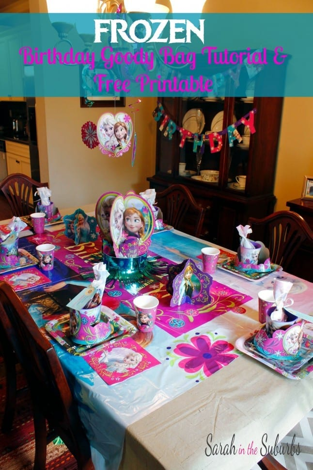frozen, birthday, party, #shop #bdayonabudget