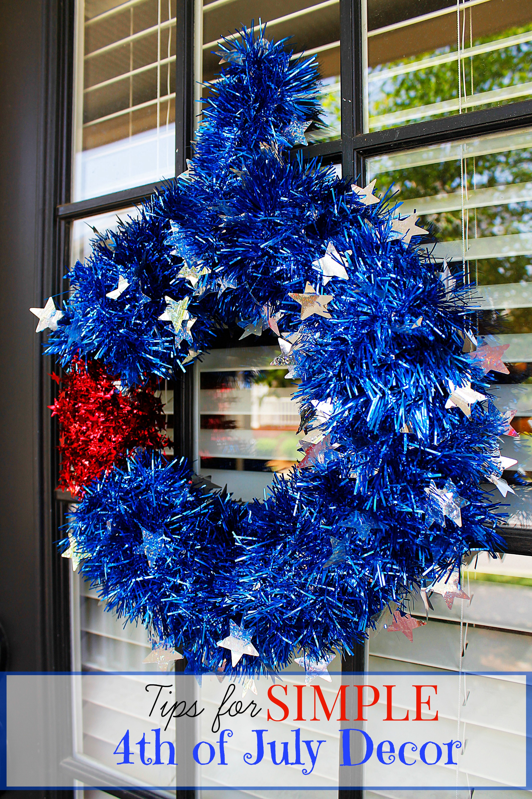 Tips for simple 4th of july decorations sarah in the suburbs for 4 of july decorations