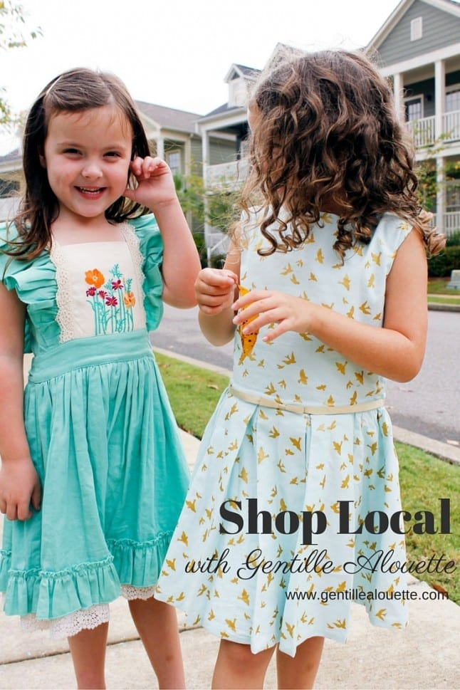 Shop Local with Gentille Alouette