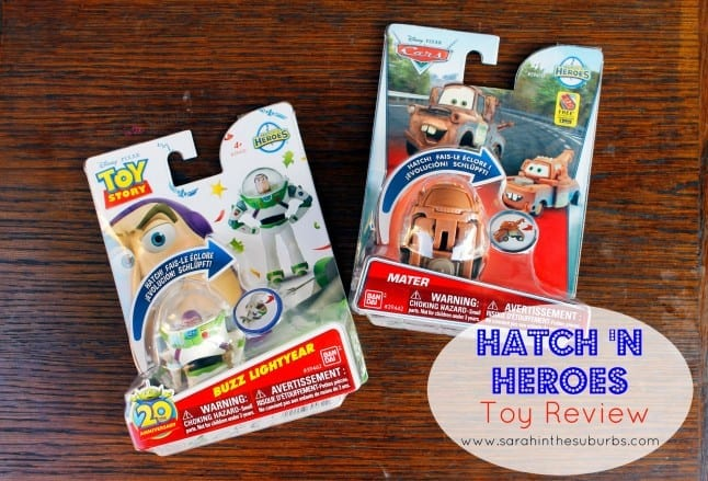 Hatch N Heroes Toy Review