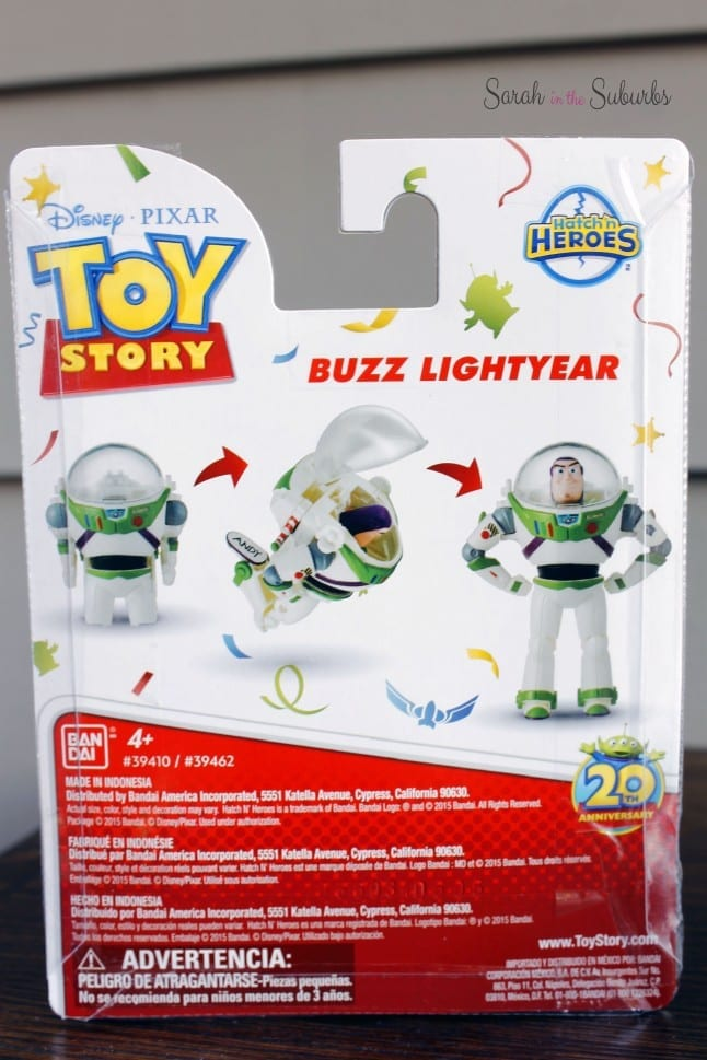 Buzz Lightyear Hatch 'n Hero