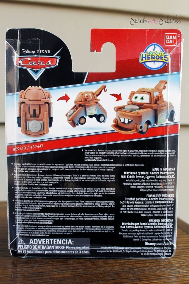 Tow Mater Hatch 'n Hero