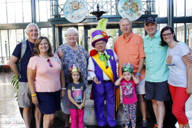 Family Photo at Port Orleans French Quarter