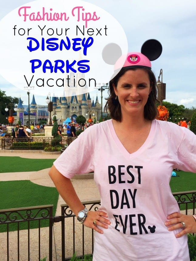 Fashion Tips for Your Next Disney Parks Vacation