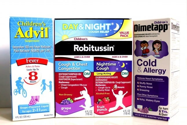Childrens Cough and Cold Products