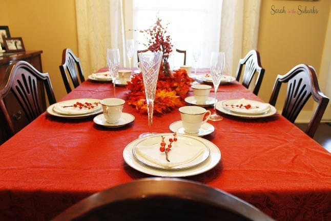 Thanksgathering Table Setting