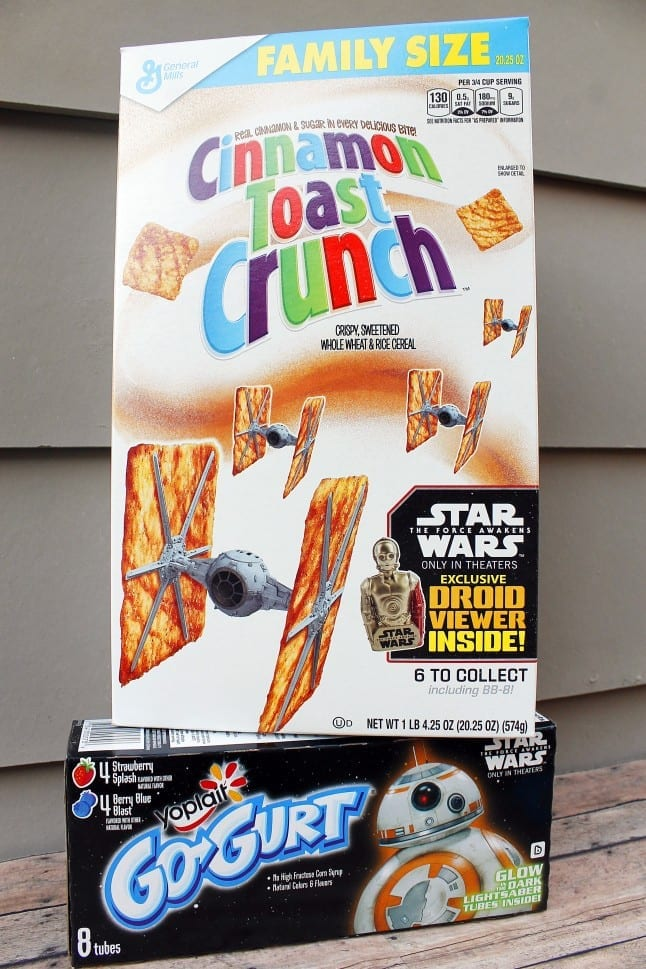 General Mills Star Wars™ Breakfast Options