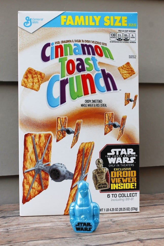 Toy in Cinnamon Toast Crunch Box