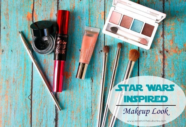 Star Wars Inspired Makeup Look