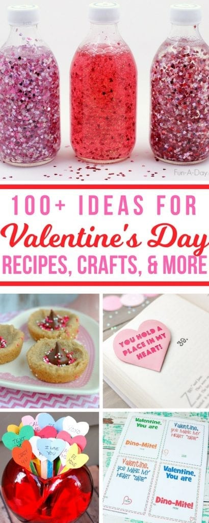 Looking for a new way to celebrate Valentine's Day? Check out these awesome ideas! Over 100 easy ideas to get your creative juices flowing. Crafts, recipes, party ideas, and more! #valentinesday #crafts #recipes #partyplanning