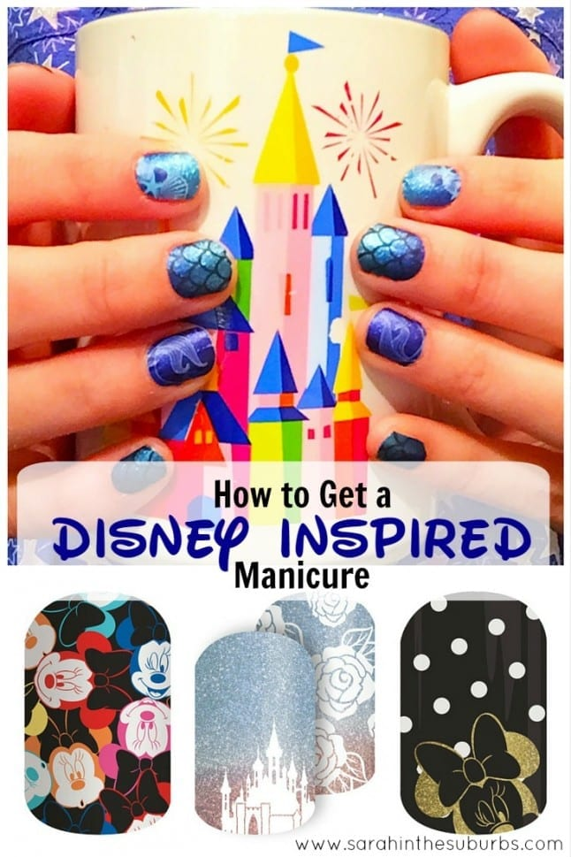 How to Get a Disney Inspired Manicure