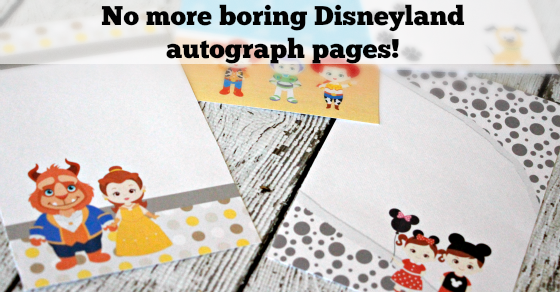 2016 Unofficial Disneyland Activity & Autograph book by BusyMomsHelper Facebook 8 Text