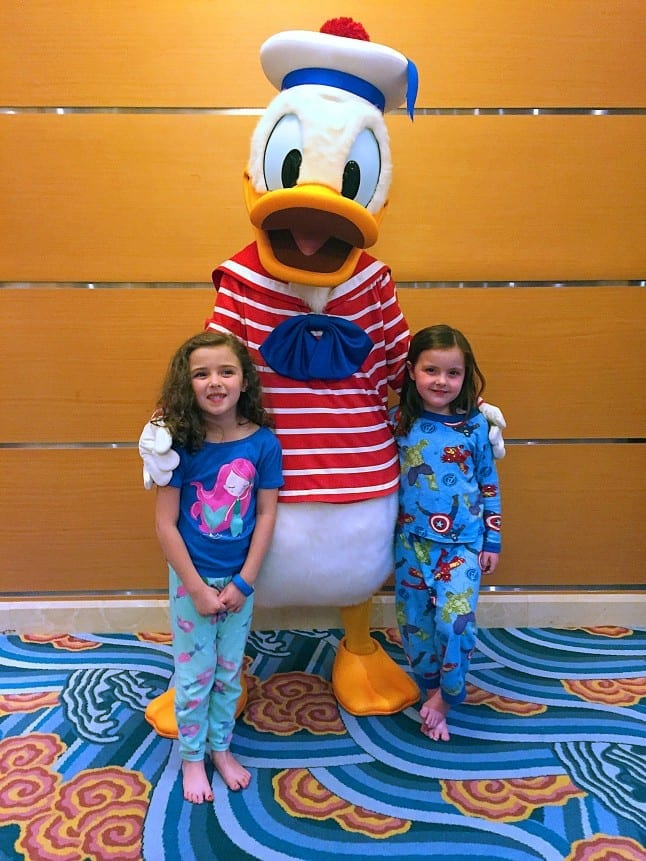 Meeting Donald on the Magic
