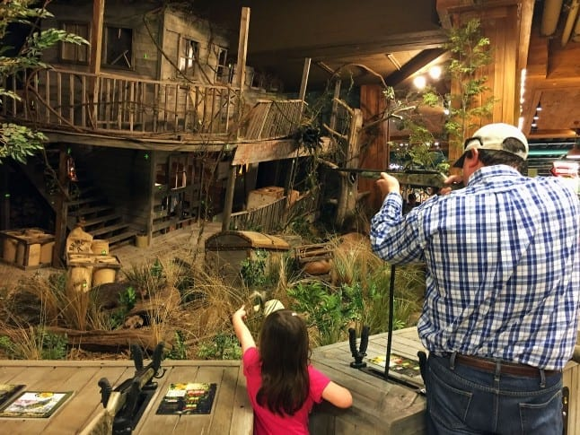 Shootin Gallery at Bass Pro Shop