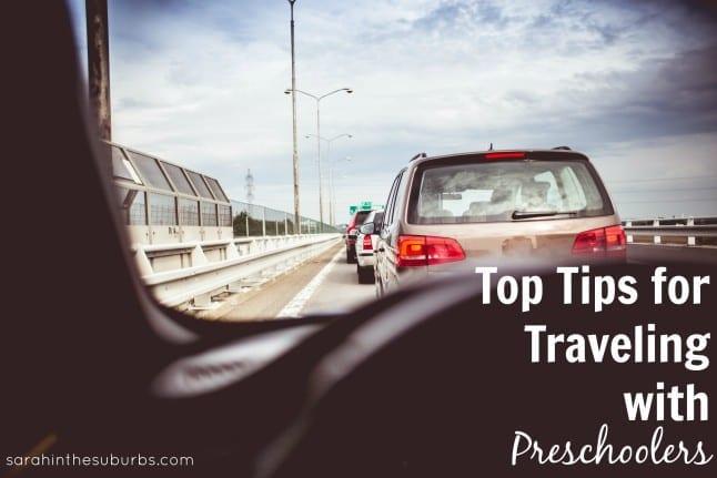 Top Tips for Traveling with Preschoolers