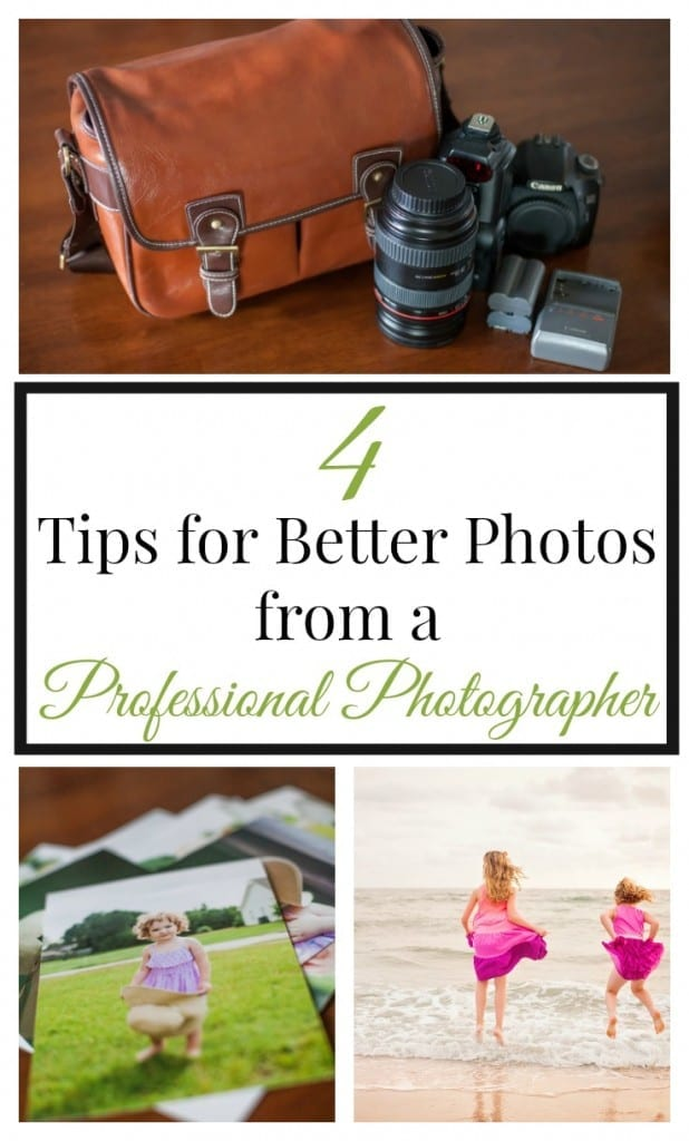 4 Tips for Better Photos from a Professional Photographer