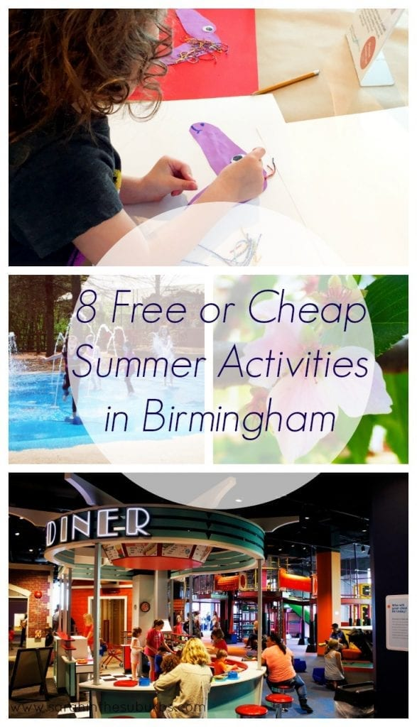 8 Free or Cheap Summer Activities in Birmingham