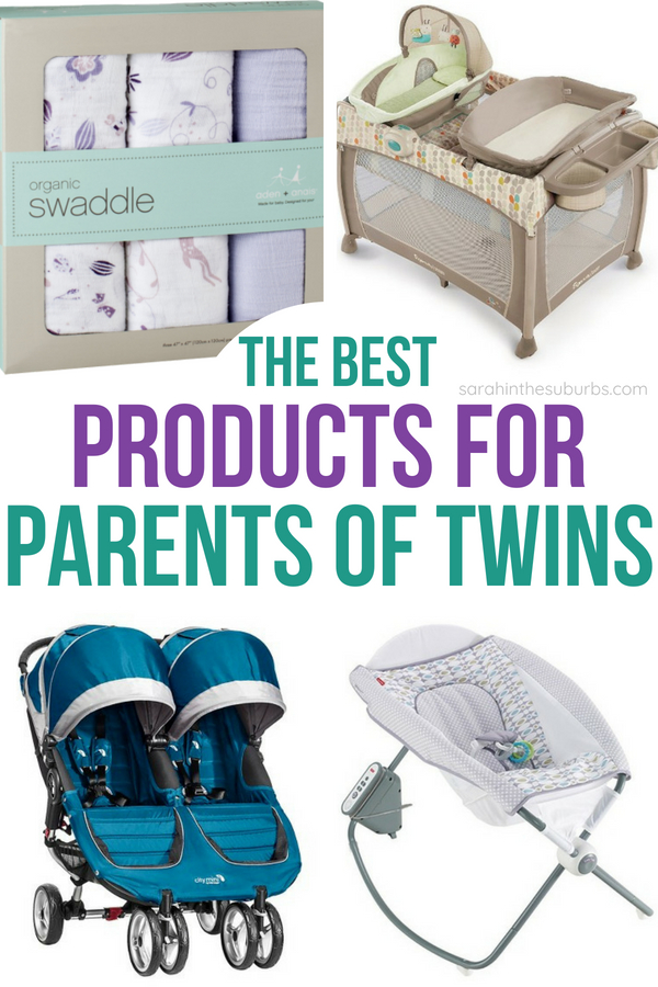 Parents of twins need to know what to buy, and this list was written by twin parents for twin parents! Don't make a registry without using this list! #twins #parenting #babyregistry #musthavesfortwins #twinpregnancy #twinnursery #twinbabyshower