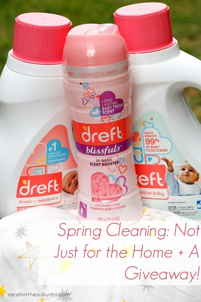 Spring Cleaning Not Just for the Home + A Giveaway
