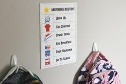Make Your Morning School Routine Easier with this Free Printable