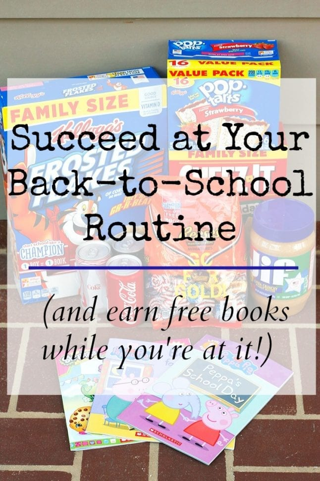 The back-to-school routine doesn't have to be hard! Use this free printable to help your kids get back into the school routine in no time.