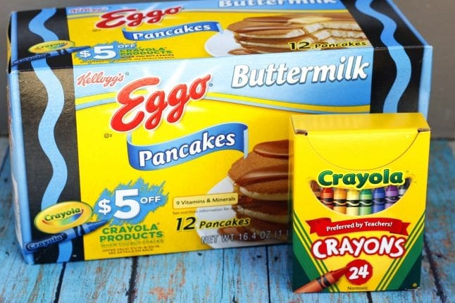 $5 Off Crayola Products When You Purchase 3 Specially Marked Eggo Products