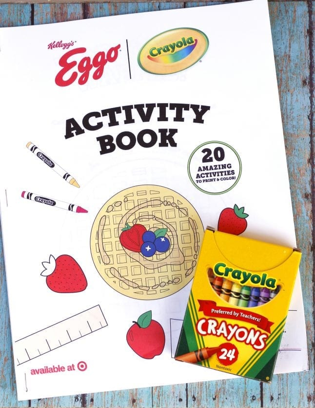 Free Printable Activity Booklet from Eggo and Crayola