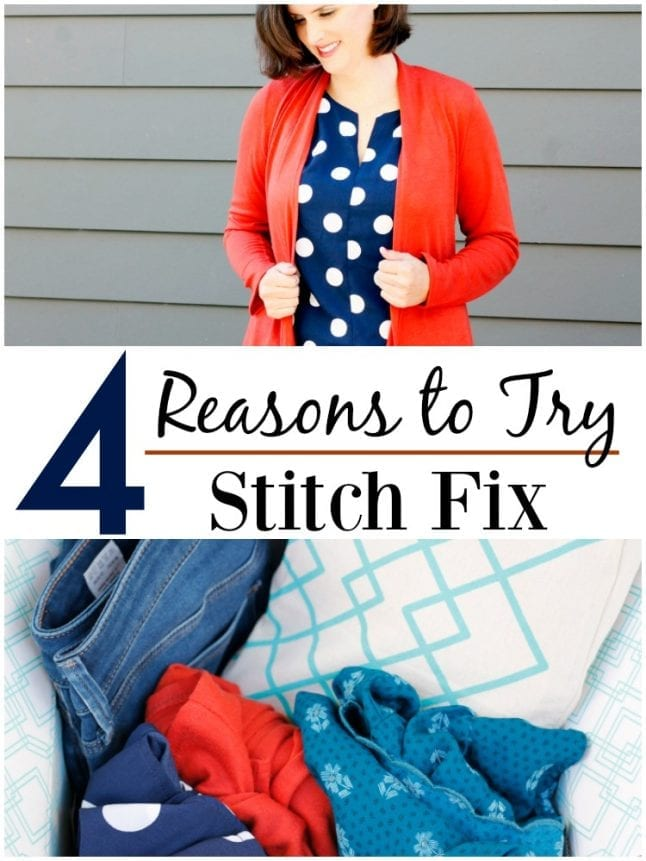 If you don't have time to shop or you just hate going to the store, you need to think about an online styling service. Stitch Fix has great options for all style tastes, and their easy-to-use system will have you on your way to fashion forward in no time.