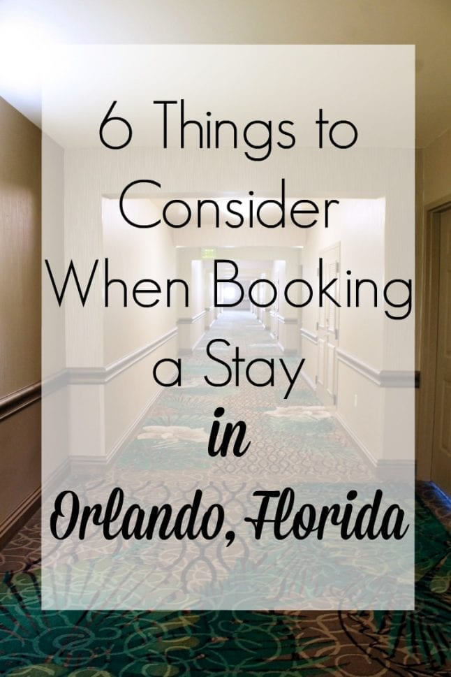 Orlando, Florida has so many options when it come to hotels and rental properties. Read on to find out what things you should consider before booking your next stay in Orlando.