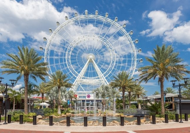 Orlando Eye in Orlando Florida