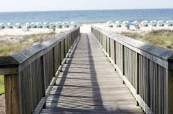 Many resorts are oceanfront and are just steps away from the beach.