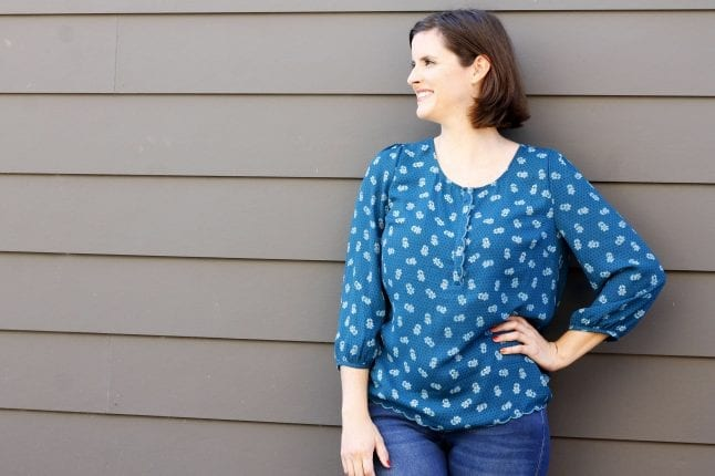 I didn't keep this blouse, but it doesn't mean I won't try Stitch Fix again.
