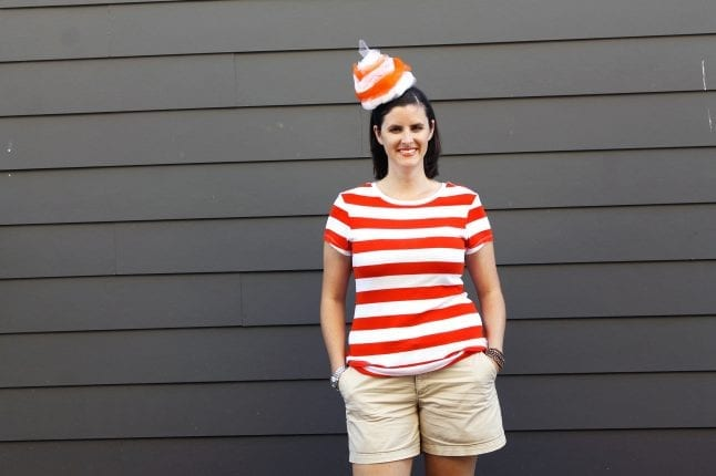 DIY Citrus Swirl costume can be stylish and comfortable.
