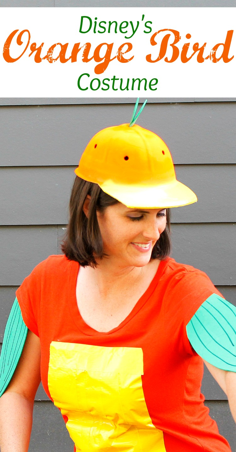 Diy orange bird costume sarah in the suburbs have you heard of the orange bird the iconic disney bird has vibrant colors that solutioingenieria Image collections