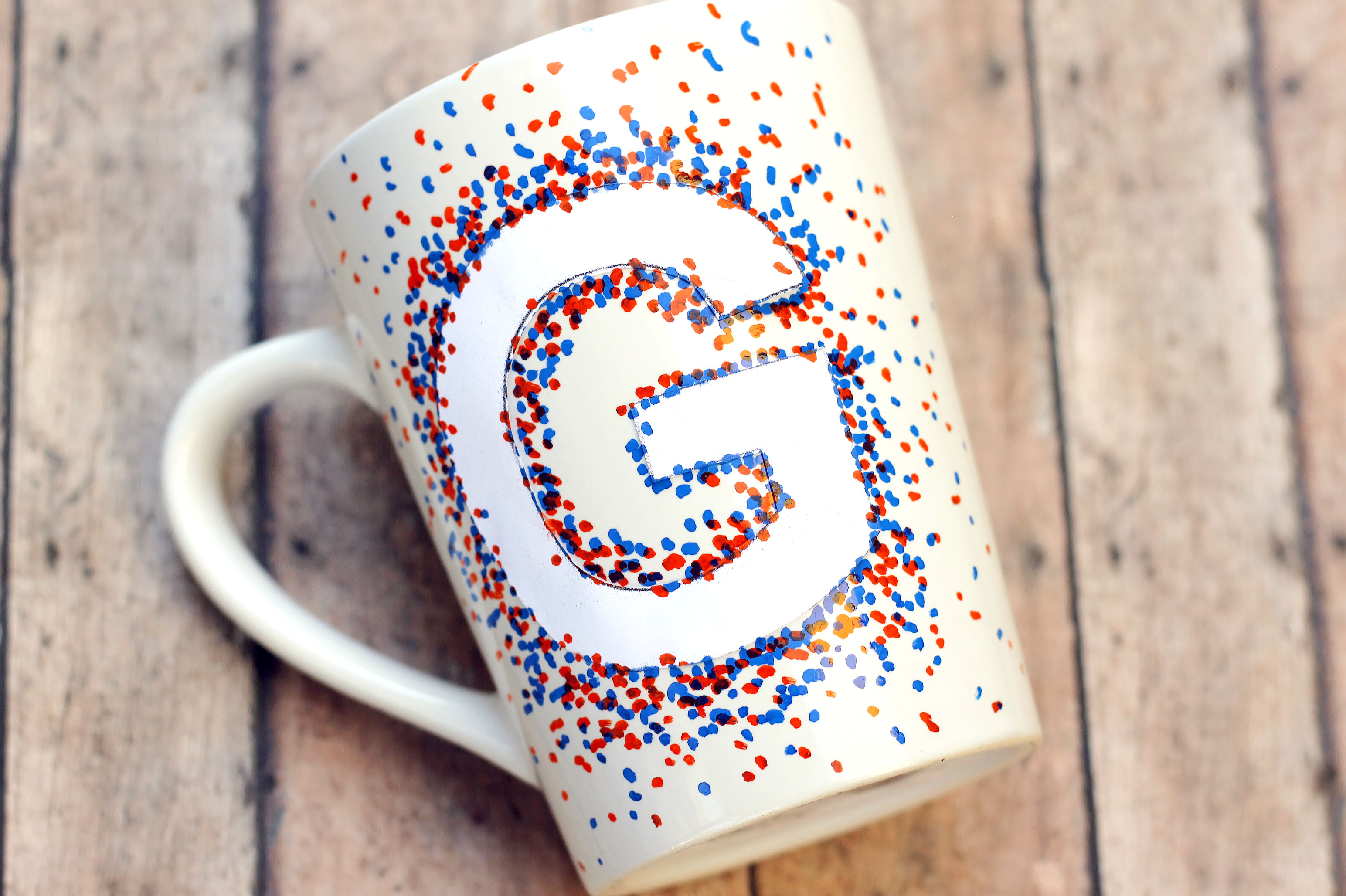 Decorate Your Diy Coffee Mug With Oil Based Paint Pens