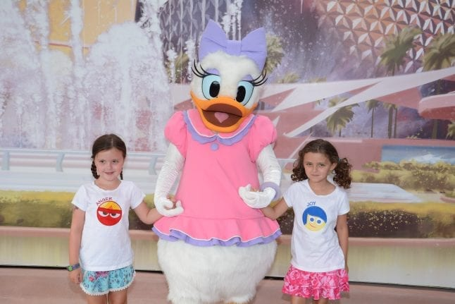 Disney kids love meeting characters.