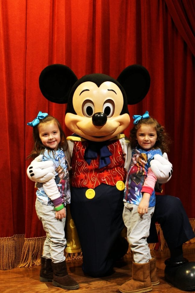 Toddlers will love to meet Mickey!