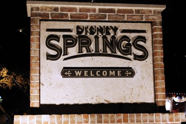 Disney Springs is a fun place to bring toddlers when visiting Walt Disney World.