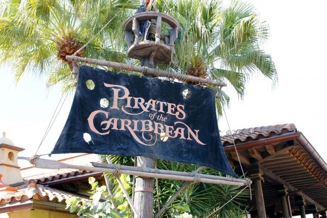 Toddlers will love experiencing Pirates League at the Magic Kingdom.