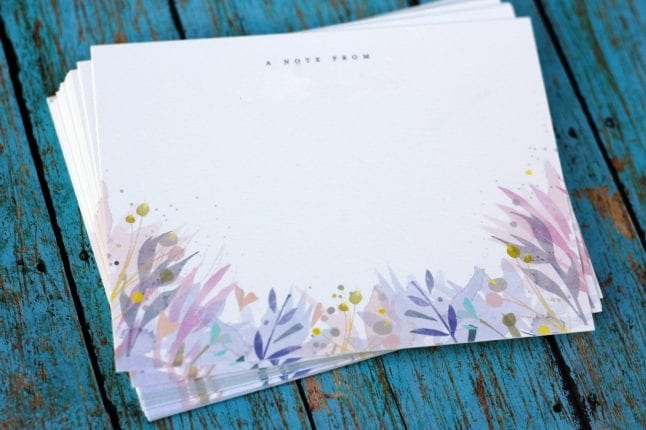 Personalized stationary from Minted make great gifts.