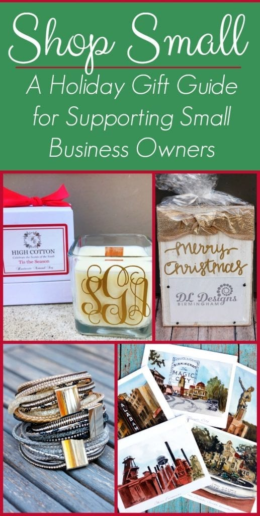Shop Small Holiday Gift Guide is a great resource for shopping this holiday season. Support small business with your purchases.