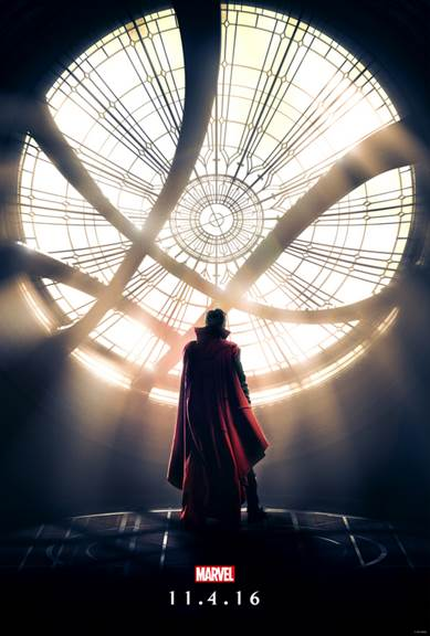 The title image for Marvel's Doctor Strange invokes a mystery and awe behind it.