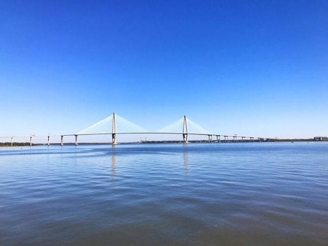 One of our favorite things to do in Charleston is take in the views.