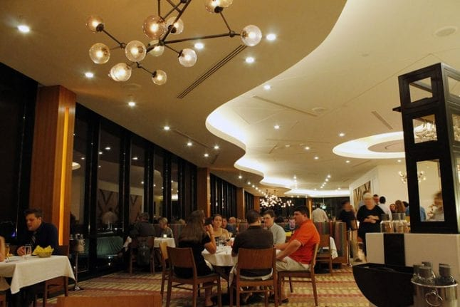 Disney's Contemporary Resort has excellent dining at the California Grill.