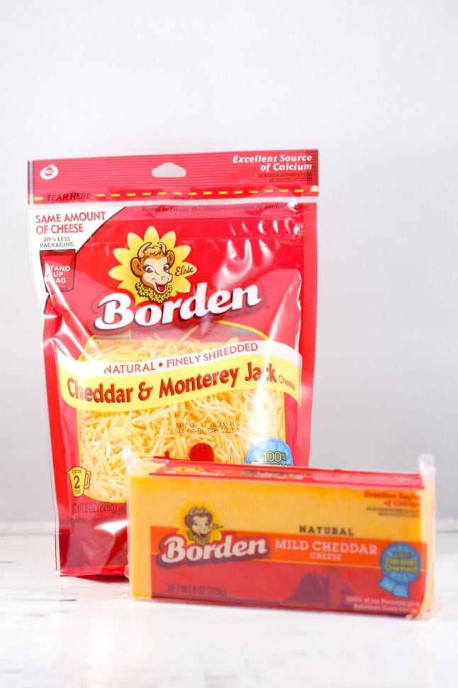 Borden Cheese products pair great with my easy BLT recipe.