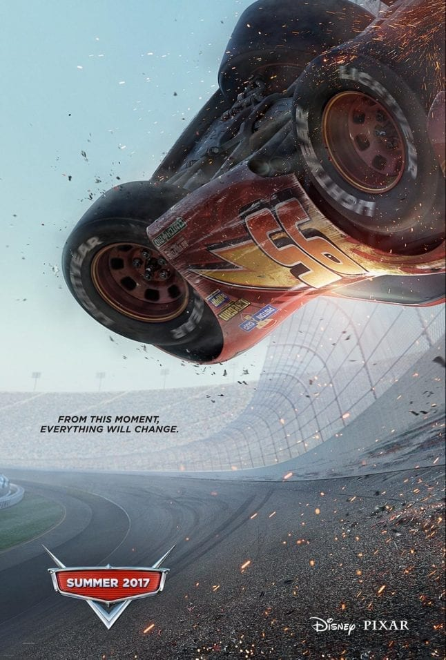 Disney movies released in 2017 include Cars 3