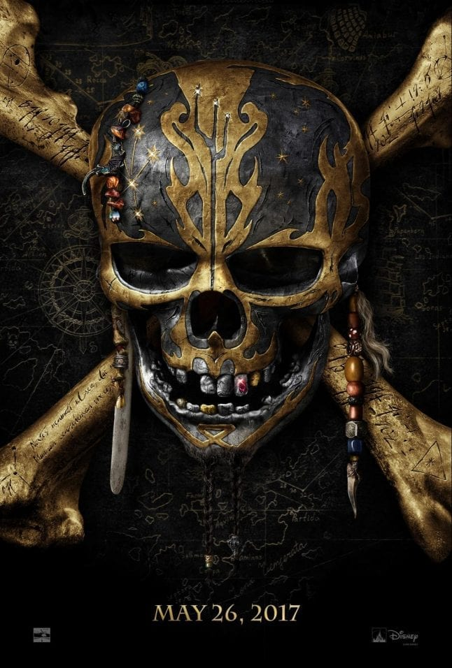 Pirates of the Caribbean Dead Men Tell No Tales is one of several Disney movies in 2017.